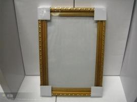 油畫框金色邊
