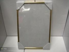 A4 鋁合金邊金色邊