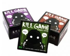 kill game 殺人遊戲牌