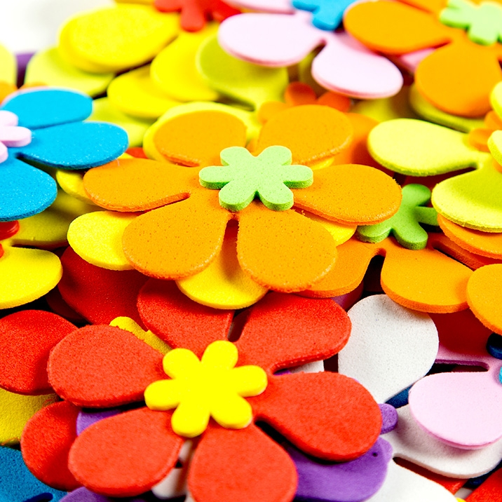 EVA海綿貼片裝飾泡沫花朵
